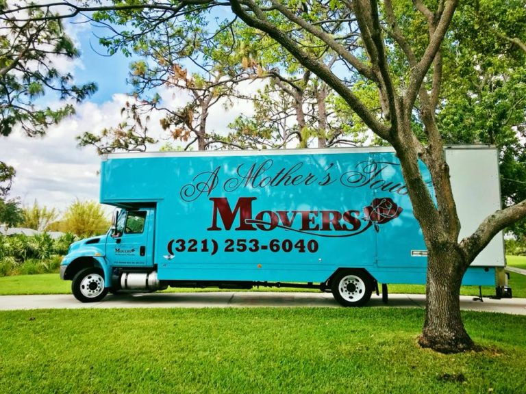 A Mother's Touch Moving Truck